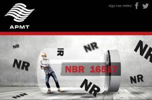 Nova NBR 16577:2017 – Espaço Confinado – Prevenção, Procedimentos e Medidas de Proteção.
