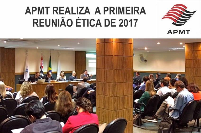 APMT/SP realiza a primeira reunião ética de 2017