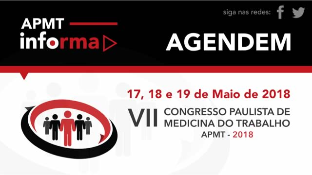 Congresso Paulista da APMT 2018