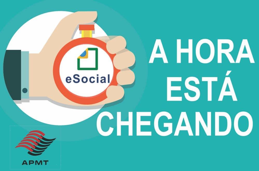 eSocial – A HORA ESTÁ CHEGANDO!