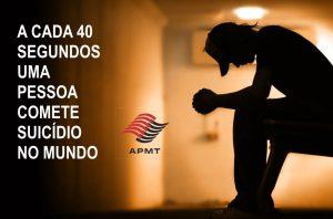 A cada 40 segundos uma pessoa comete suicídio no mundo