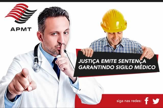 Justiça emite sentença garantindo sigilo médico