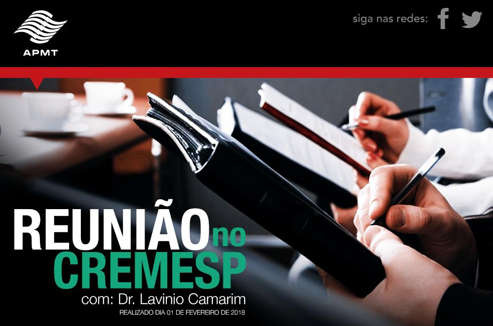 Informe sobre Reunião no CREMESP