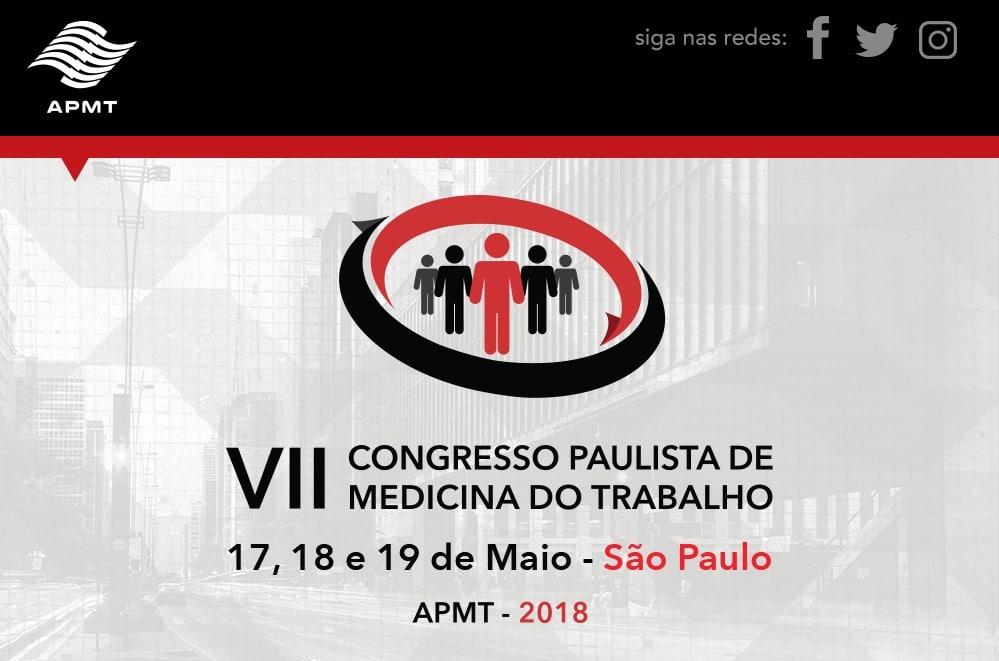 VII Congresso Paulista de Medicina do Trabalho