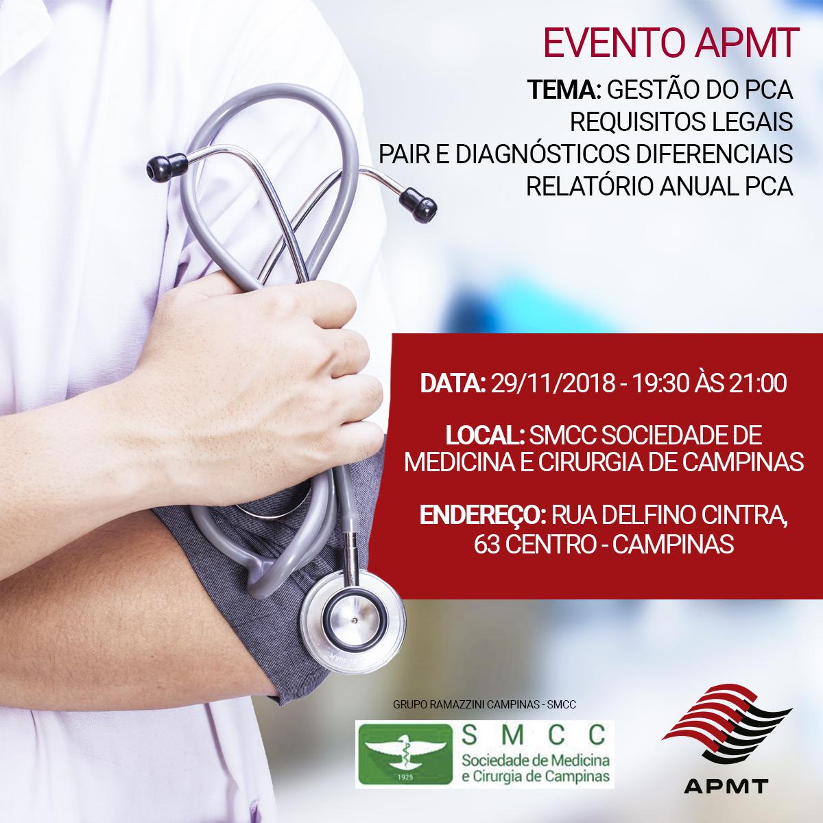 Evento – Sociedade de Medicina e Cirurgia em Campinas