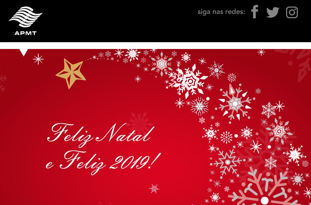 Mensagem APMT – Natal e Ano Novo