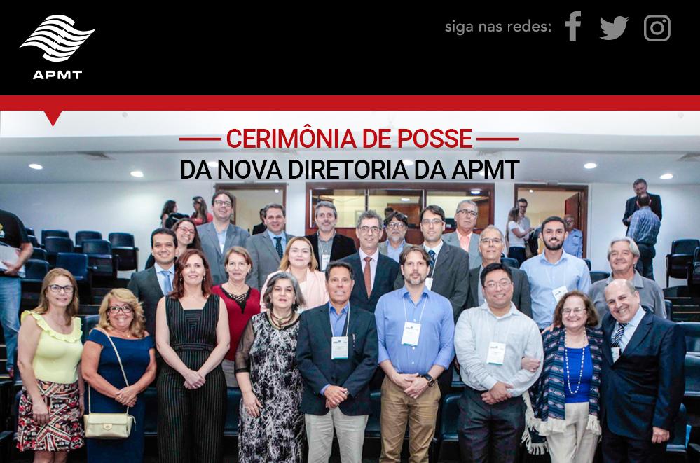 Cerimônia da Posse da Nova Diretoria da APMT e Palestra de Enquadramento de Pessoas com Deficiência