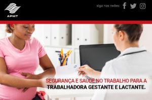 Segurança e Saúde no trabalho para a trabalhadora gestante e lactante