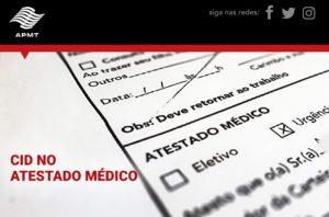 Atestados médicos e a CID