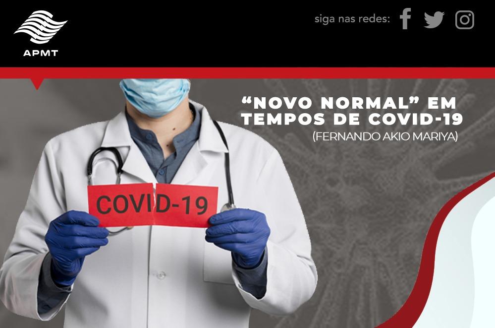 Novo Normal em tempos de COVID-19