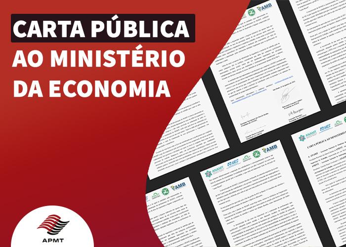 Carta Pública ao Ministério da Economia