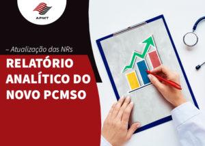 Relatório analítico do novo PCMSO