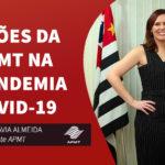 Mensagem da Presidente  da APMT – Pandemia  Covid-19