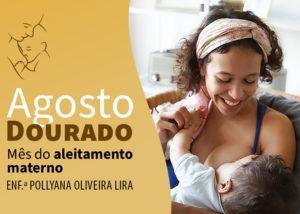 Agosto Dourado – Aleitamento Materno
